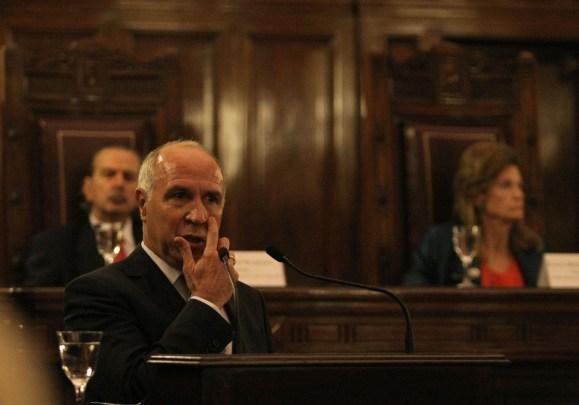 DYN07, BUENOS AIRES 03/03/15, EL PRESIDENTE DE LA CORTE SUPREMA, RICARDO LORENZETTI, DURANTE LA INAUGURACIÓN DEL AÑO JUDICIAL.FOTO.DYN/PABLO MOLINA.