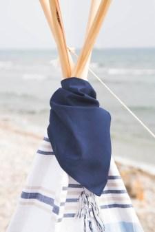 Pañuelito picniquero Azul para Tipi
