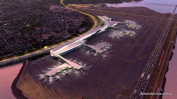 Render del nuevo aeropuerto de La Guardia