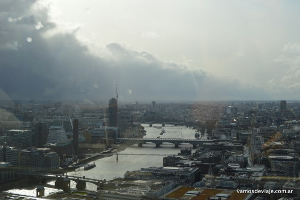 London Bridge desde el Sky Garden.
