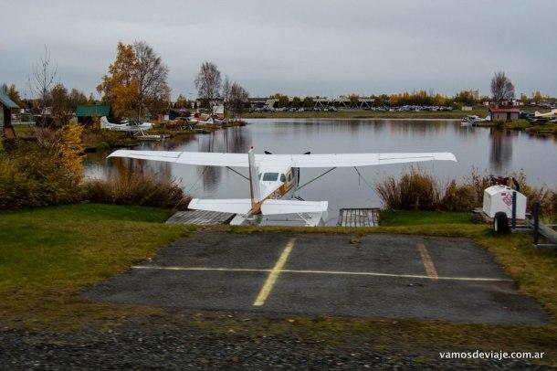 Lake Spenard, Anchorage.