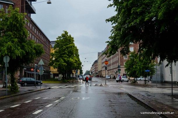 Lluvia en Helsinki