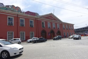 Aduana (the original customs building)
