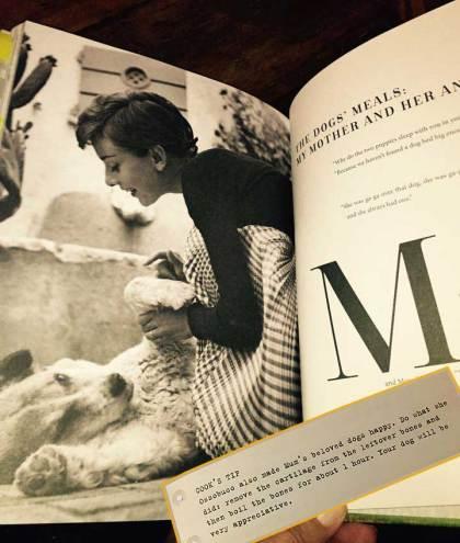 Página do livro Audrey at Home