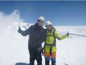 Treking vulcão Vilarica - Chile