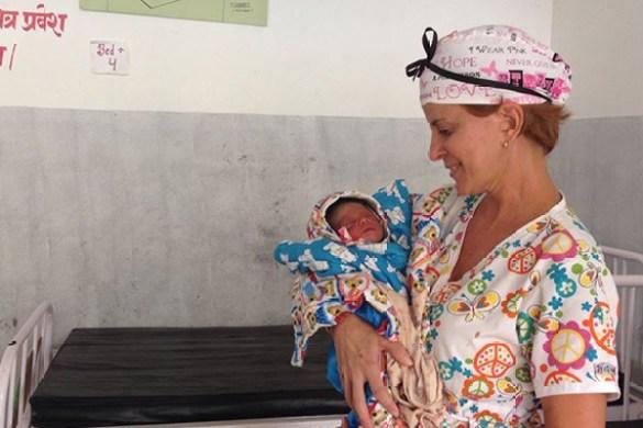 Trabalho humanitário no Nepal