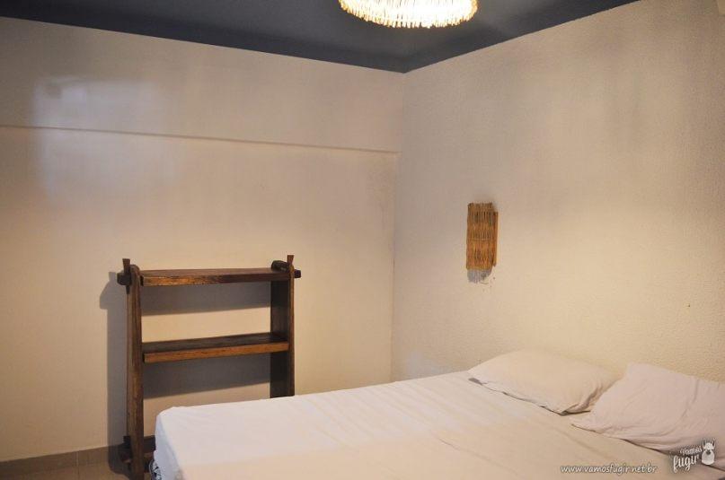 Suíte casal local hostel