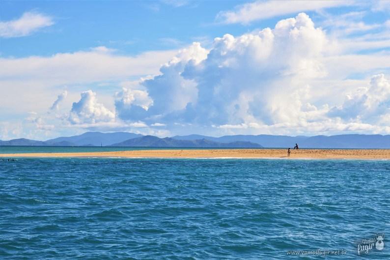 como chegar em whitehaven beach