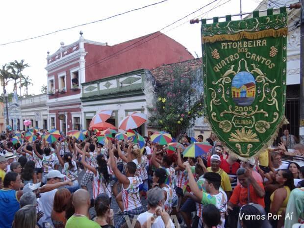 Carnaval em Olinda - Pitombeira dos quatro cantos