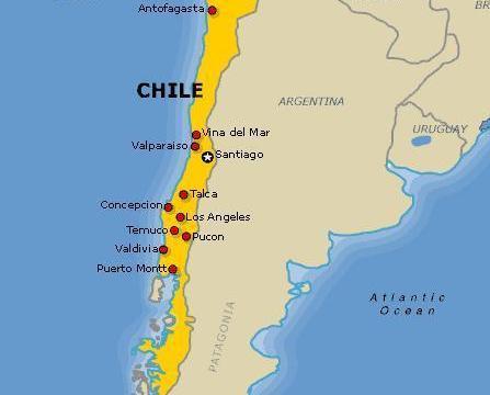 Roteiro no Chile: 8 Dias