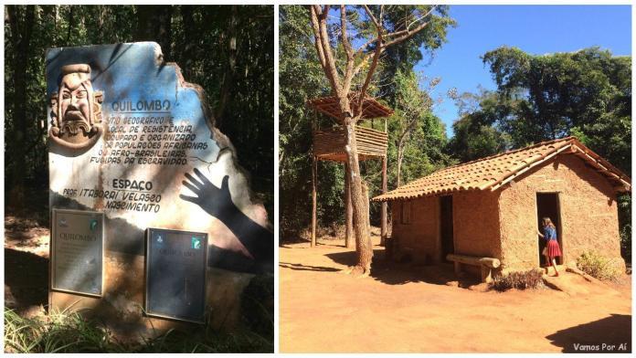ingresso do Memorial do Cerrado em 2019