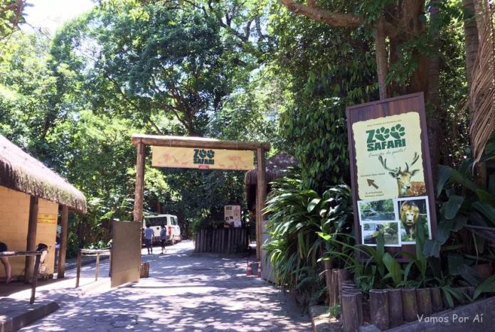 ingresso do Zoo Safari