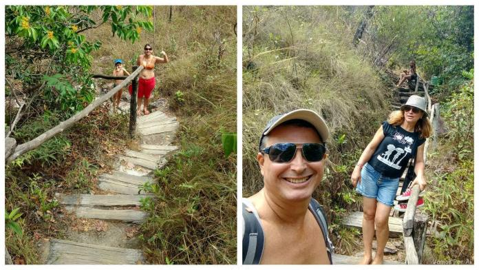 trilhas do Salto Corumbá, salto corumba goias, cachoeiras perto de pirenopolis