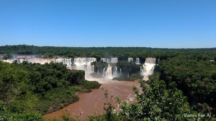 Cataratas do Iguaçu no Brasil