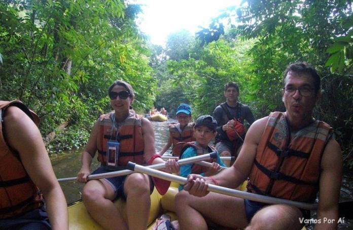 Rafting do Hot Park ao Eko Aventura Park