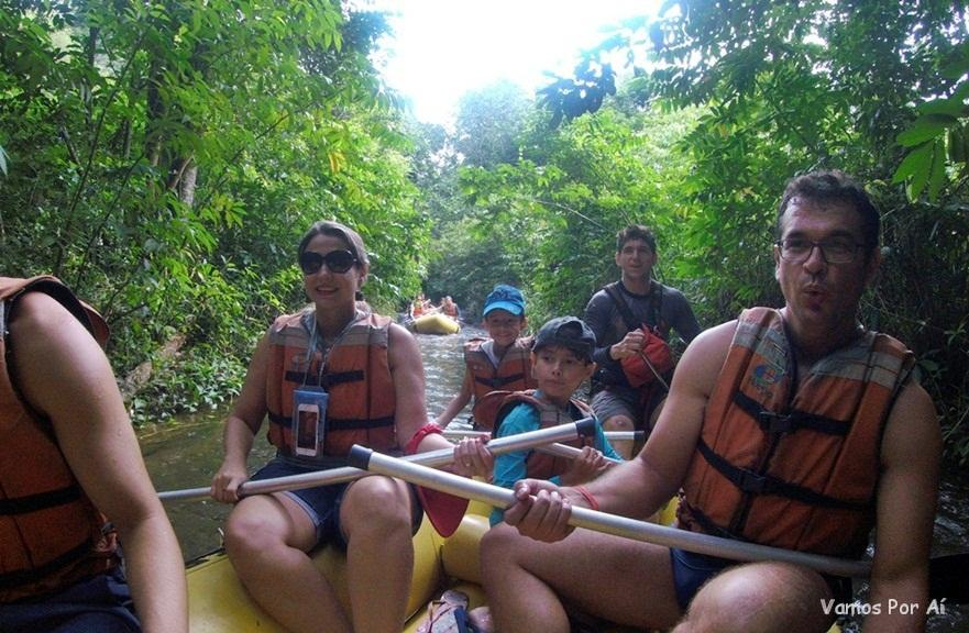Rafting do Hot Park ao Eko Aventura Park