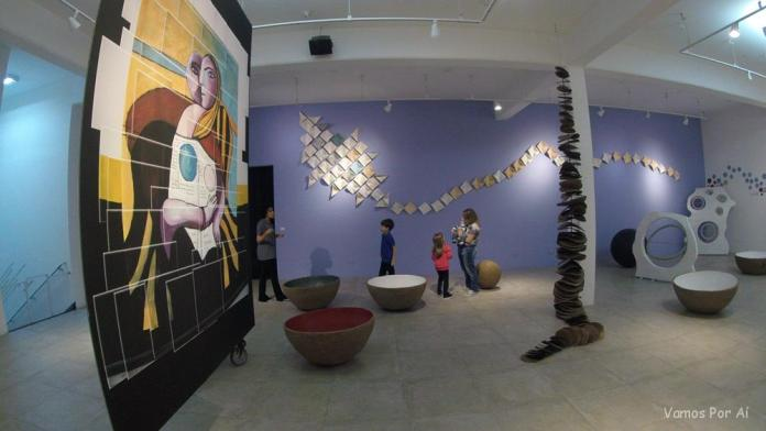 Sala das Esferas no Museu da Imaginação em São Paulo