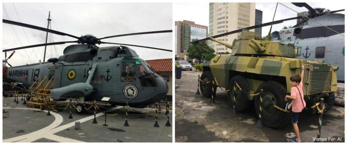 Helicóptero-Museu Sea King