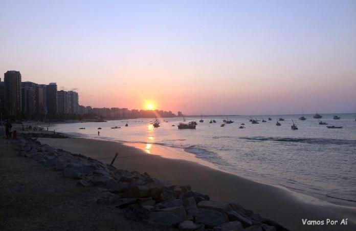 O que fazer em Fortaleza assistir ao por do sol