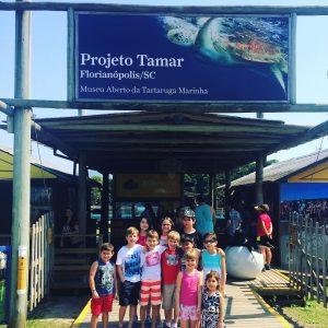 Projeto Tamar Florianópolis