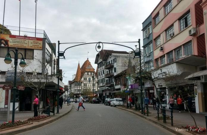 o que fazer em Blumenau Rua XV de Novembro em Blumenau