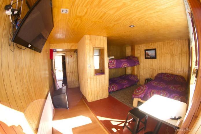Quarto hostel el pichon