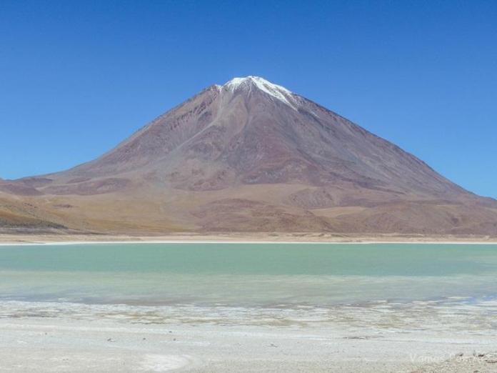 Laguna Verde na Bolívia