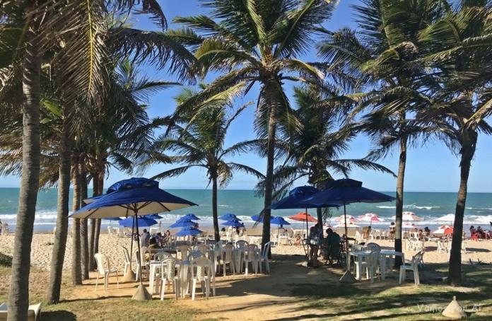 Praia das Fontes no Ceará