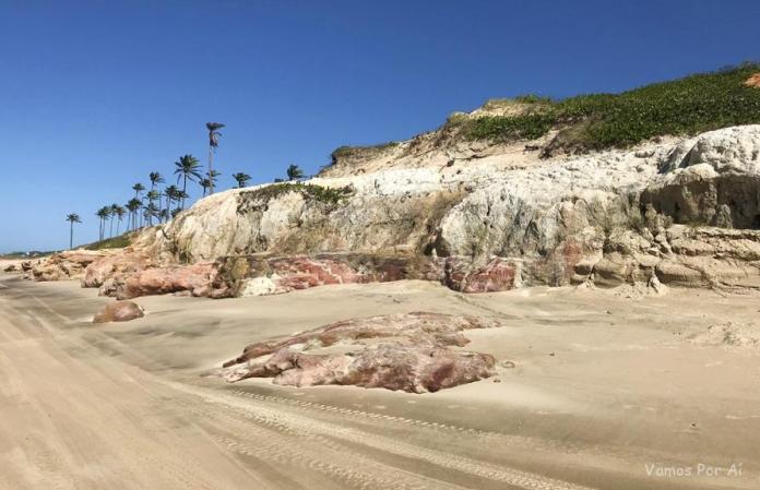 Praia de Lagoinha no Ceara
