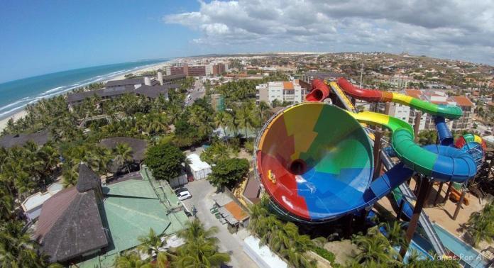 Principais passeios de um dia saindo de Fortaleza: Beach Park