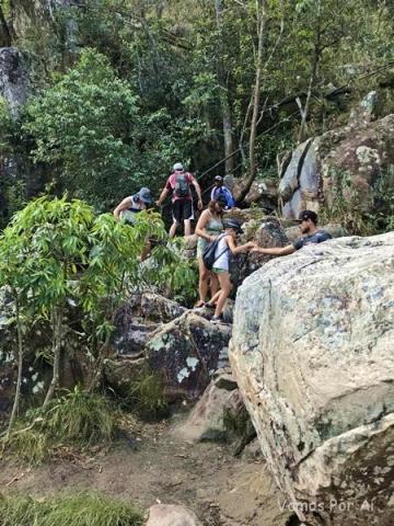Trilha Cachoeira Capivara