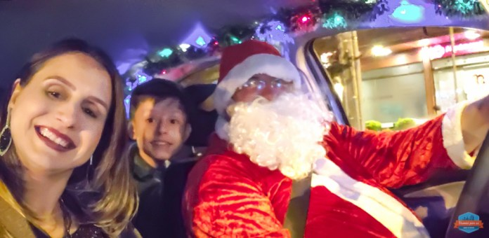 Uber do Papai Noel