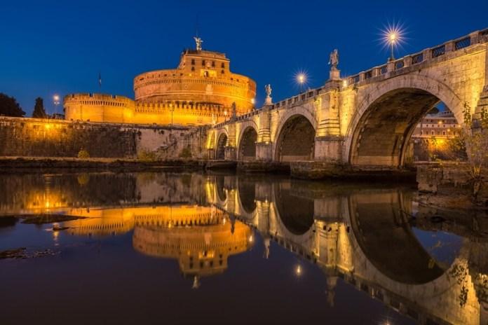 Castelo de Santo Ângelo em Roma na Itália, o que fazer em Roma