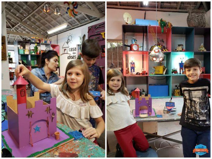 Passeios com crianças em São Paulo que unem diversão e aprendizado: Casa das Ideias