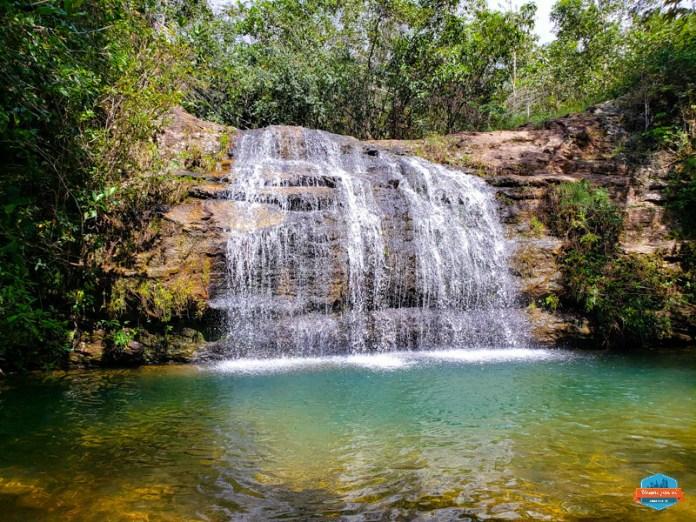 Cachoeira Cascatinha em Caldas Novas