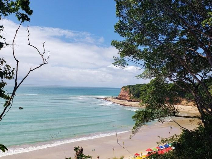 Praia do Madeiro em Pipa, praias do RN, praias rio grande do norte, onde ir no RN