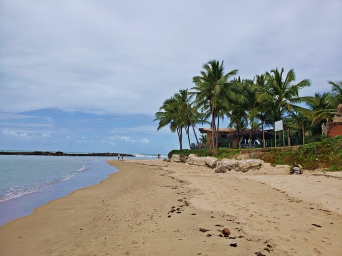 Passeio Litoral sul em Natal, praia de camurupim
