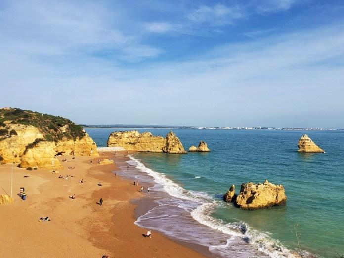Praia Dona Ana, Praia da Marinha, Praias de Portugal, praias imperdíveis em Lagos