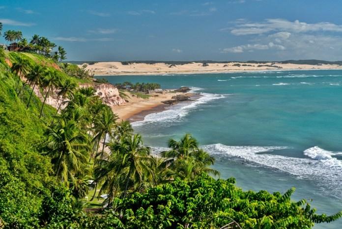 praias bonitas do rio grande do norte, praias paradisíacas no rio grande do norte, Tibau do sul