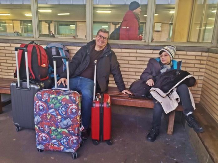 bagagem nos trens, limite de bagagens para viajar de trem
