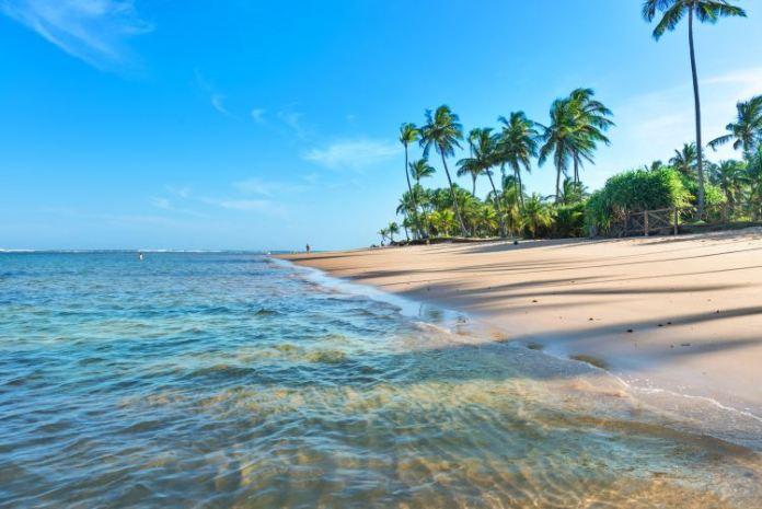 Praia Taipu de Fora na Bahia, melhores praias da bahia, praias bonitas da bahia