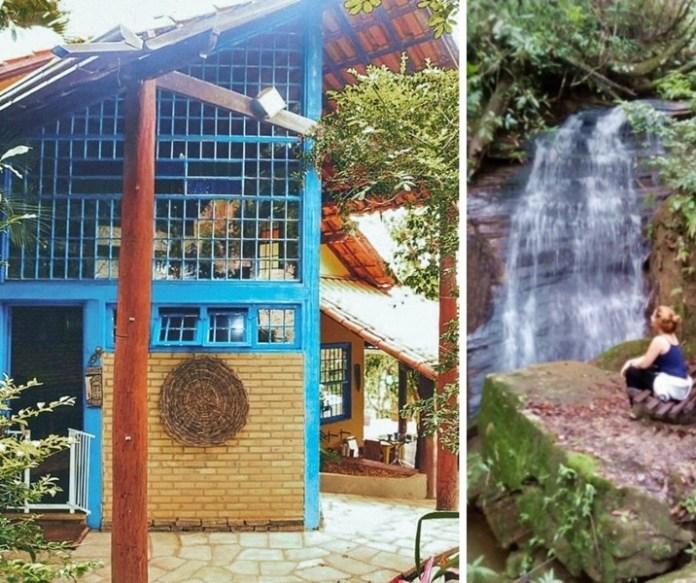 Airbnb em Pirenópolis com cachoeira