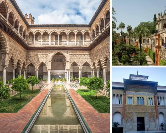 Alcázar de Sevilha, principais pontos turísticos de sevilha, sevilha espanha