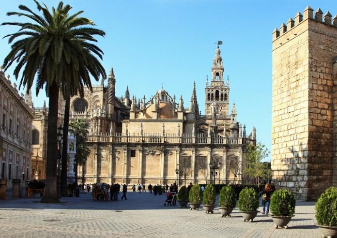 maior catedral do mundo, Torre La Giralda, coisas pra fazer em sevilha