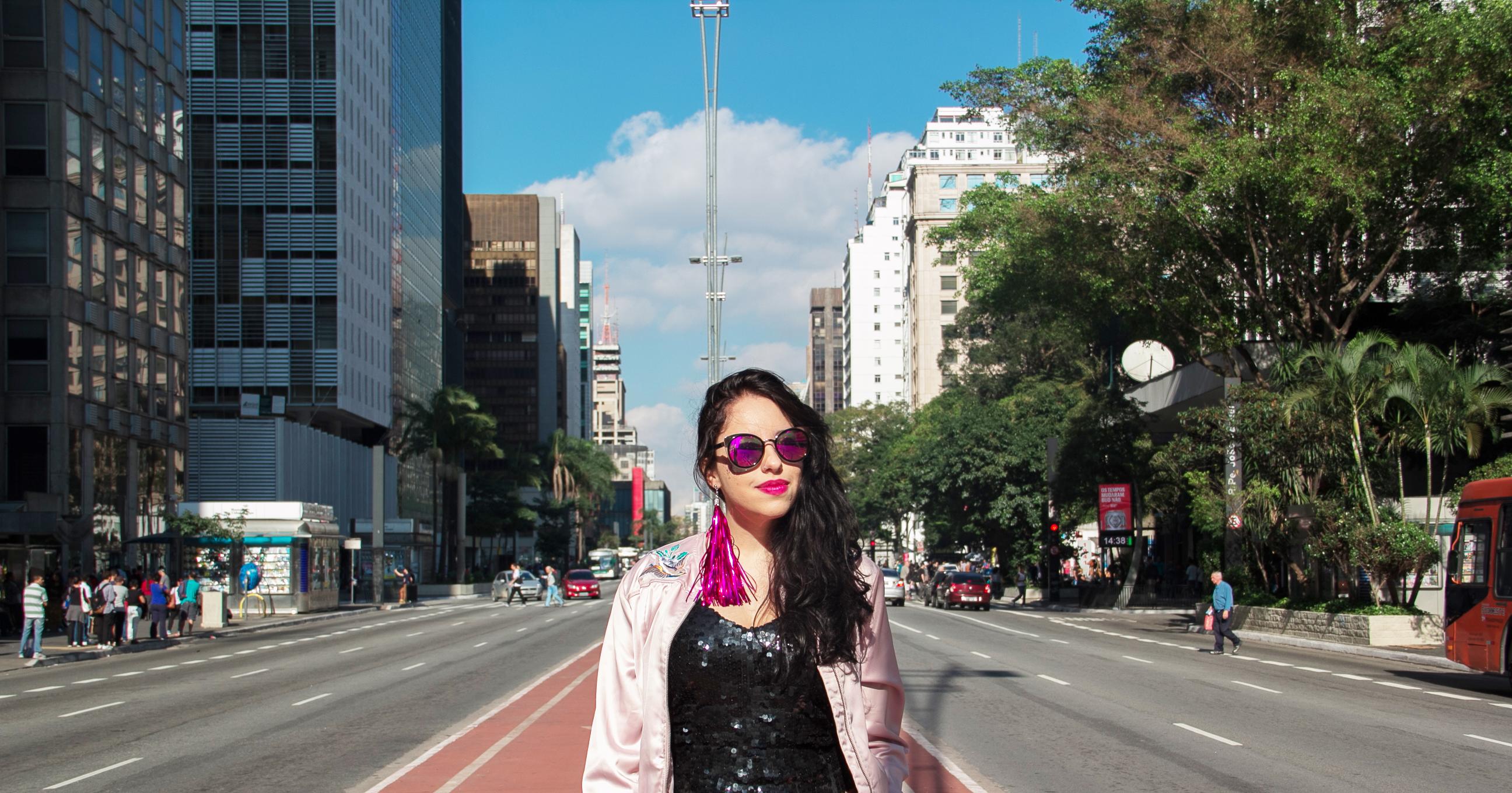 ÓLYA ELA: tudo sobre o dia de fotos na Av. Paulista!