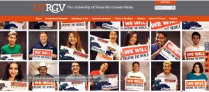 UTRGV Home page