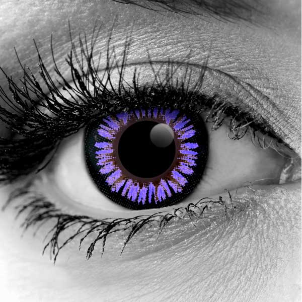 Violet ColorMax Water Colors FX Contact Lenses
