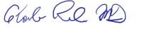 Charles Runels, MD (signature)