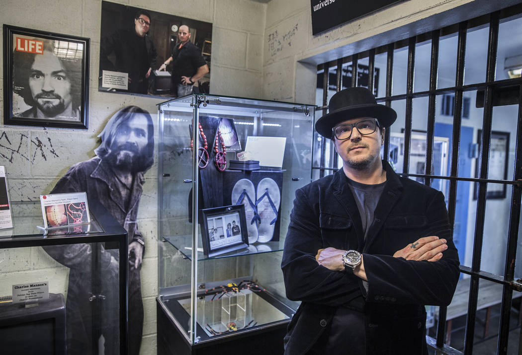 Zak Bagans of 'Ghost Adventures' Purchases Charles Manson's Personal Effects for His Las Vegas Museum