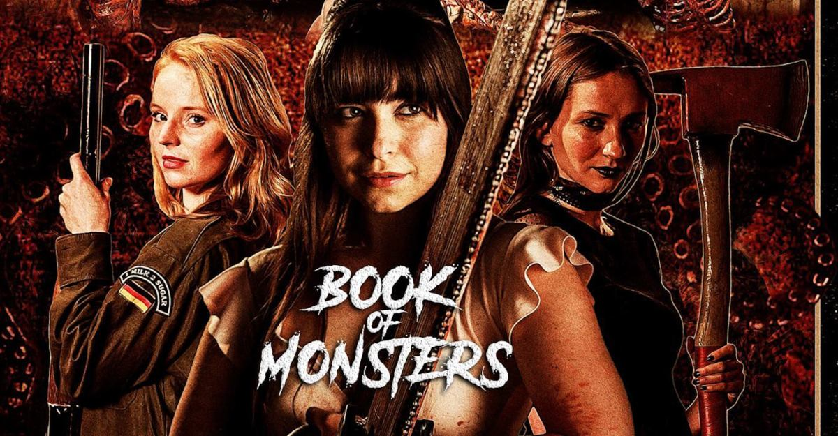 INTERVIEW: Director Stewart Sparke on House Party Horror 'Book of Monsters'